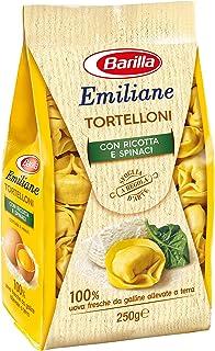 Emiliane Barilla - Pasta rellena de huevo tortillas con ricino y espinillas, 250 g