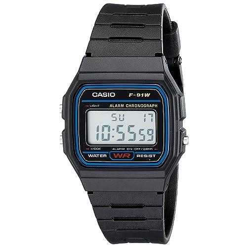 274bb7b69f Casio F91W-1 Classic Resin Strap Digital Sport Watch