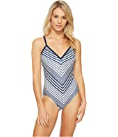 Nautica - Seabrook Spliced One-Piece