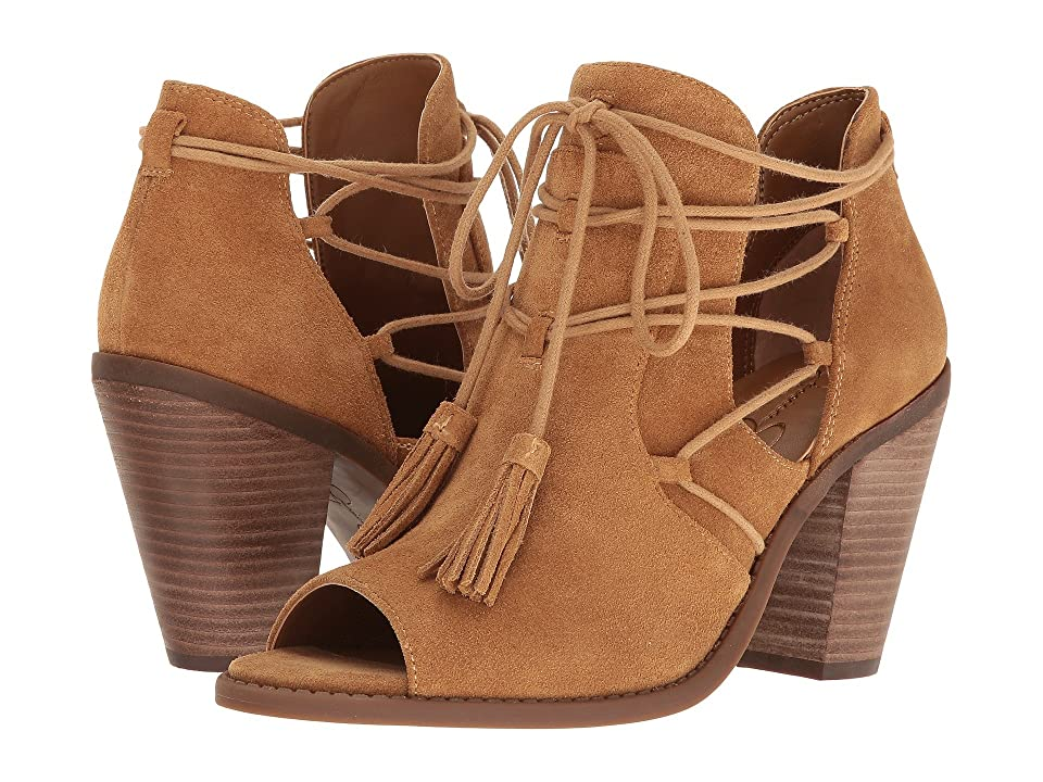 Jessica Simpson Ceri (Honey Brown Split Suede) Women