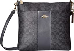 4254ba82774a COACH. Crossgrain Messenger Crossbody.  150.00. Li Charcoal Midnight Navy