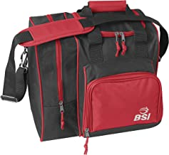 BSI 423 Bowling Bags, Black/Red