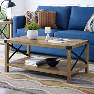 Best coffee table rustic oak Reviews