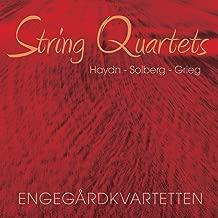 Haydn / Solberg / Grieg: String Quartets - Engegard Quartet