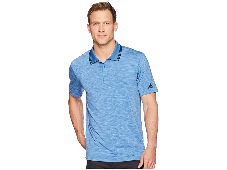 adidas Golf Ultimate Heather Polo (Trace Royal Heather/Collegiate Navy) Men