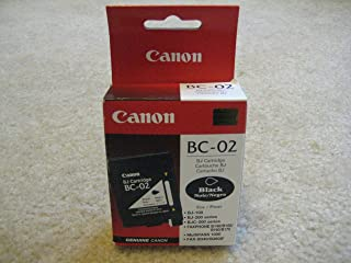 Canon Model BC-02 Black Cartridge