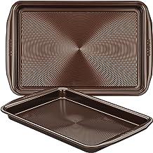 Circulon Nonstick Bakeware Cookie Pan Baking Sheet Set One Size Chocolate