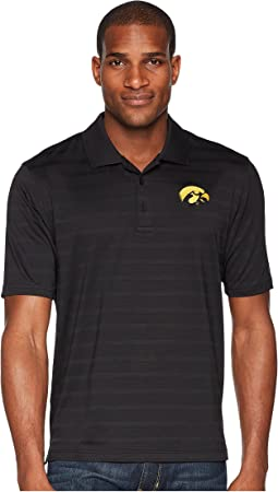 Iowa Hawkeyes Textured Solid Polo
