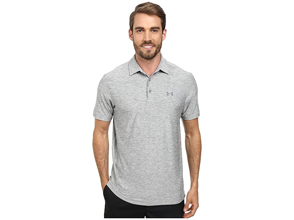 Under Armour Golf UA Playoff Polo (True Gray Heather/Graphite) Men