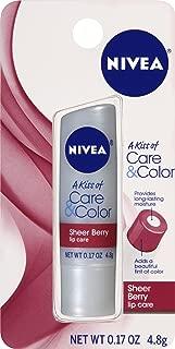 Best nivea care & color sheer berry lip care Reviews