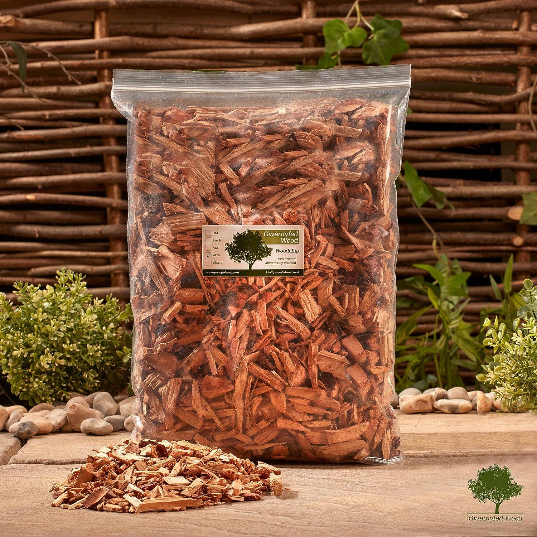 Alder Smoking Smoker Wood Chips Cheap super special price -4.5 Bag Very popular Jumbo â1.3kg Litre