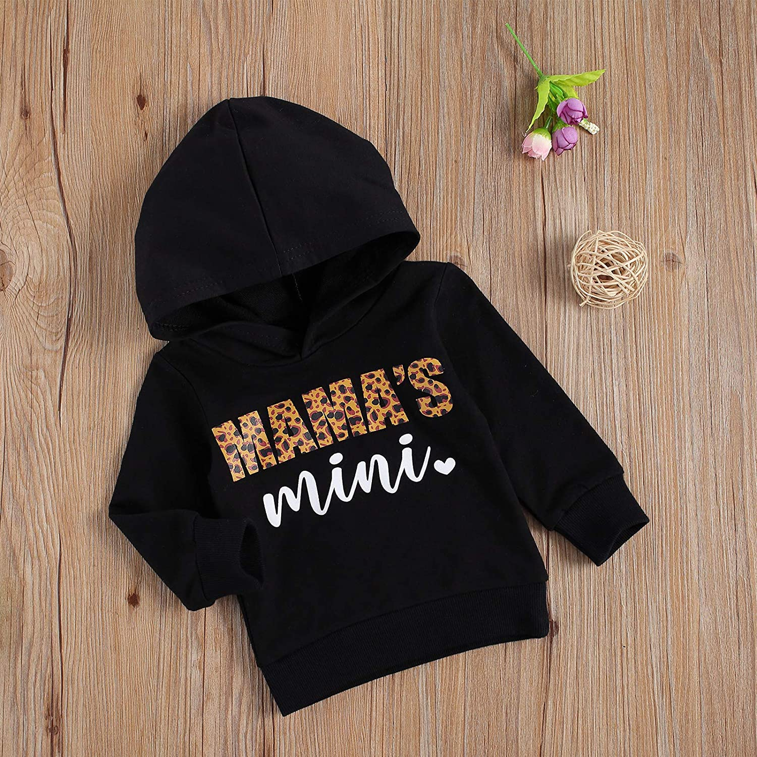 Infant Toddler Baby Girl Boy Hoodies Sweatshirt Long Sleeve Hooded Pullover Sweater Casual Tops Fall Winter Clothes