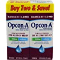 2-Pack Bausch & Lomb Opcon-A 15 ml Eye Drops