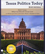 Bundle: Texas Politics Today 2017-2018 Edition, Loose-Leaf Version,18th + LMS Integrated MindTap Political Science, 1 term (6 months) Printed Access Card