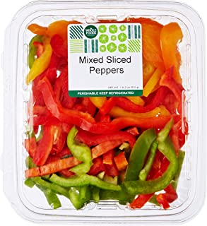 Mixed Sliced Peppers, 18 oz
