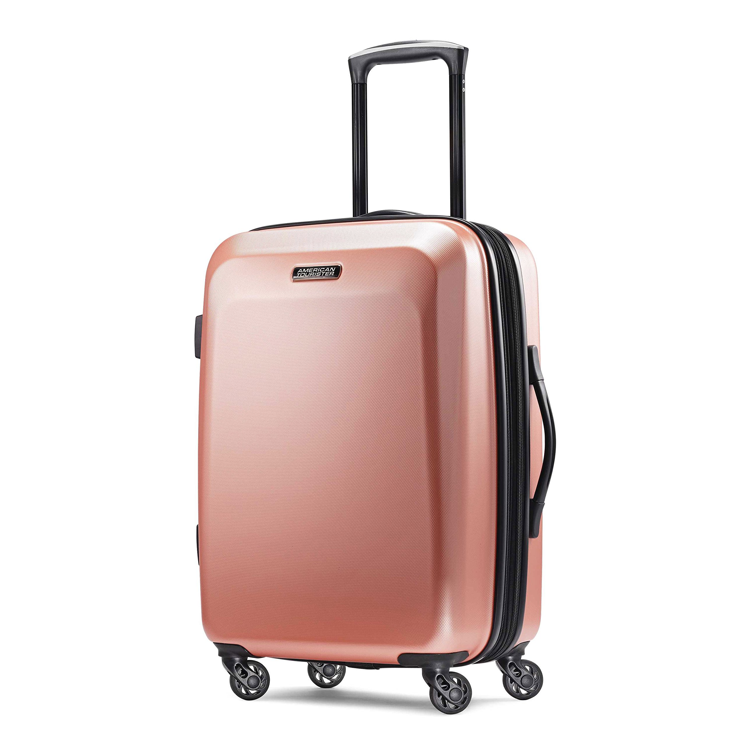 American Tourister Carry On Rose Gold