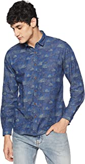 V Dot Van Heusen Men's Printed Regular Fit Casual Shirt
