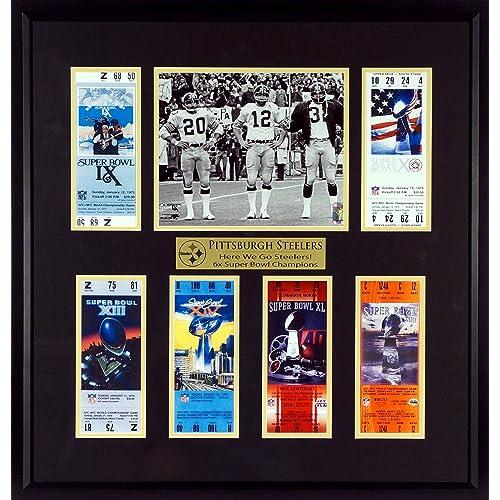 huge selection of 0fe5d 75cdc Pittsburgh Steelers Memorabilia: Amazon.com