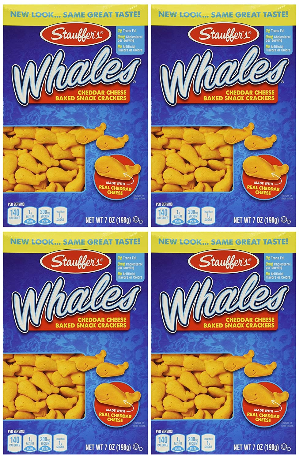 Luxury Stauffer's Whales Challenge the lowest price of Japan ☆ Baked Cheddar Snack Crackers Box Pack 7oz