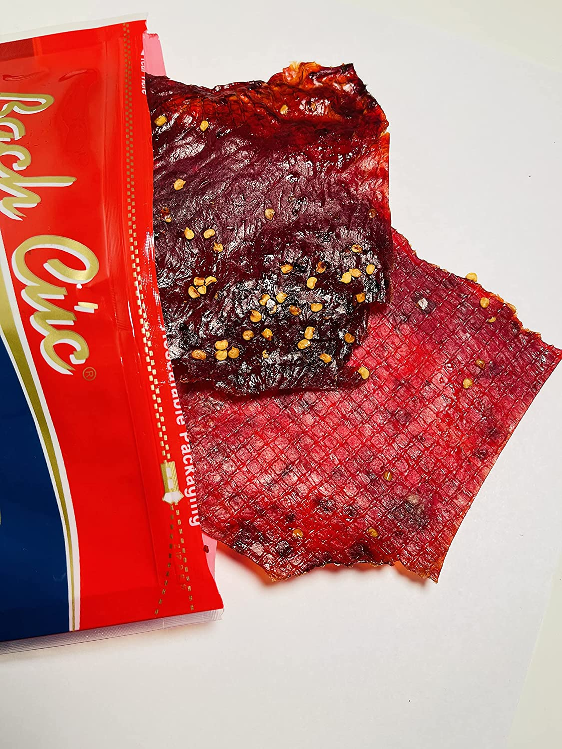 Bach cuc beef jerky Sale price BBQ flavor Beef from Solid Very popular made of Strips