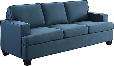 Lexicon Ashland Living Room Sofa, Blue