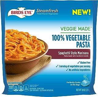 Birds Eye Steamfresh Veggie Made 100% Vegetable Pasta, Spaghetti with Marinara Sauce, 10 Ounce (Frozen)