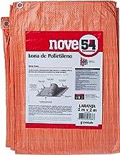 Lona De Polietileno Laranja 2 M X 2 M Nove54 Nove 54