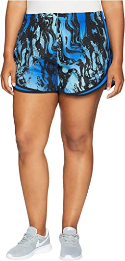Dry Tempo Print Short (Size 1X-3X)