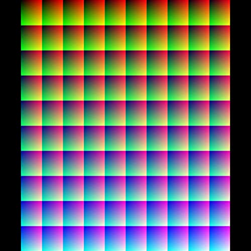 ONE MILLION COLORS IN ONE PICTURE!