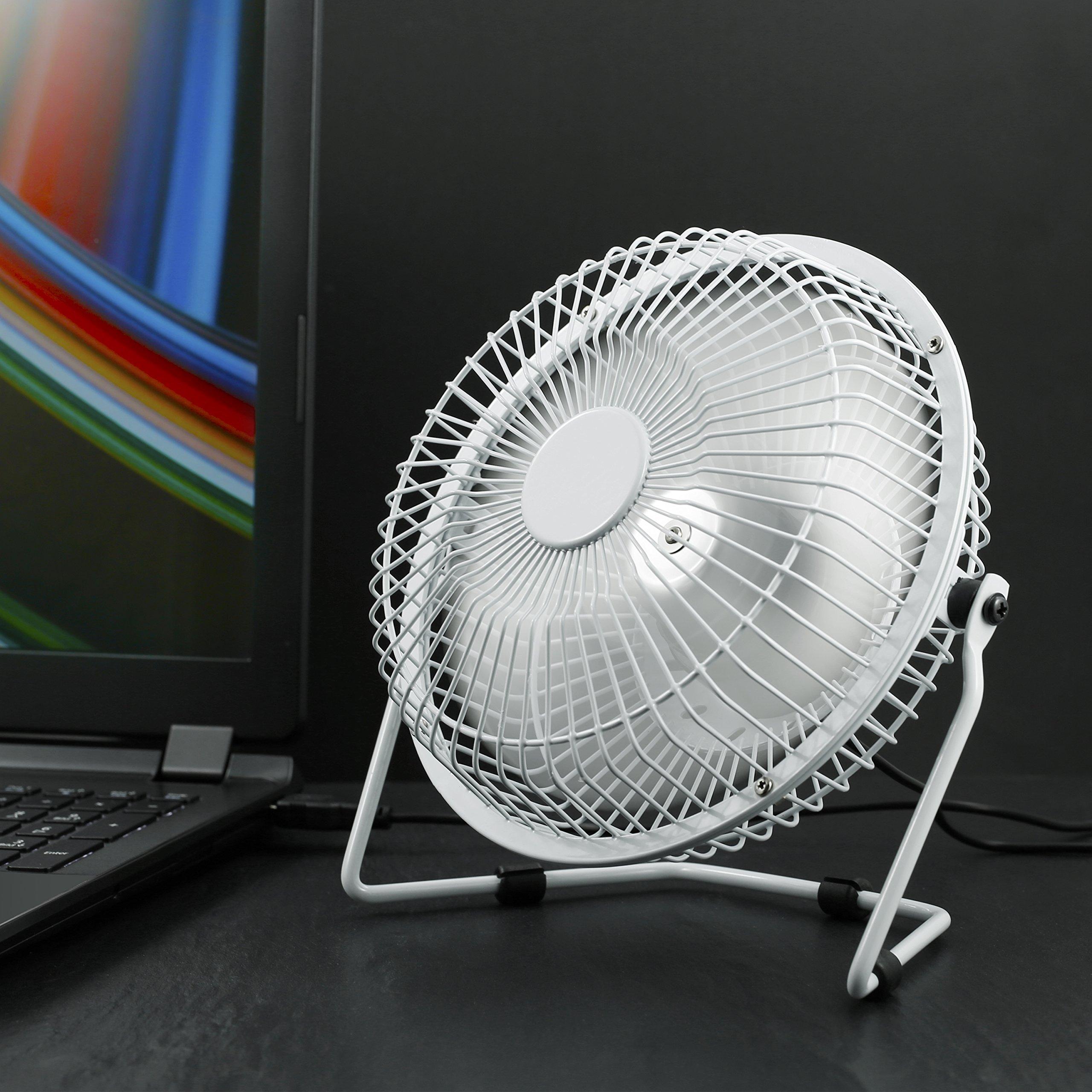 CSL - USB Ventilador/Fan | Ventilador de Mesa | Carcasa/aspas de ...