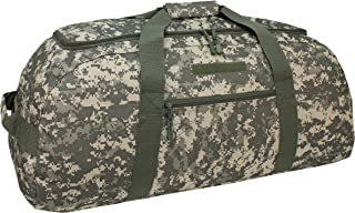 Mercury Tactical Gear Code Alpha Giant Convertible Duffel Bag with Backpack Straps, Digital Camouflage, Army Camoufalge