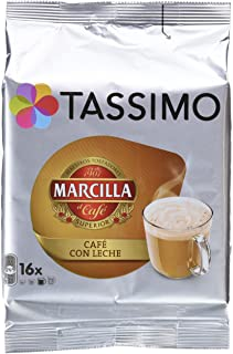 TASSIMO MARCILLA CAFÉ CON LECHE - [Pack de 5]