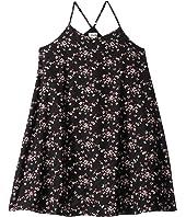 Printed Woven Slip Dress (Big Kids)