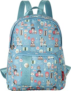 Colourful suitcase Lil'Ledy: soft shell hard shell backpack children's trolley handbag in Kawaii look