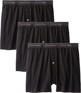 Underwear Men's Cotton Classic 3 Pack Knit Boxers