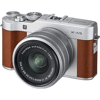 FUJIFILM ミラーレス一眼カメラ X-A5レンズキット ブラウン X-A5LK-BW