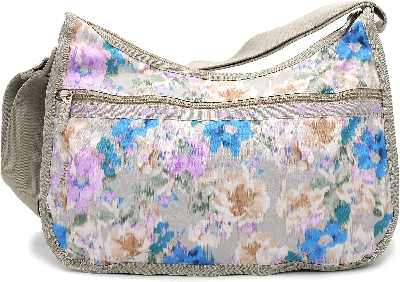 LeSportsac Classic Hobo Crossbody Handbag in Window View Floral, Medium
