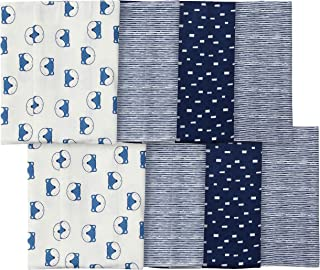 Gerber Baby Boys 8-Pack Flannel Burp Cloth
