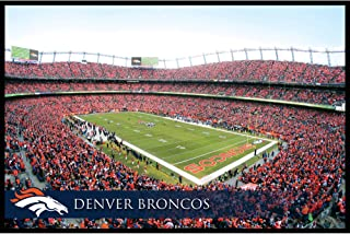 Artissmo Designs NFL Favorite Team Wall Decor (Denver Broncos Stadium Canvas)
