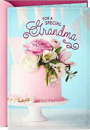 Hallmark Birthday Card for Grandma (Birthday Cake)