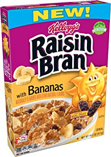 (Discontinued Version) Raisin Bran with Bananas, 14.5 Ounce , 10 Count