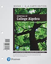 Essentials of College Algebra with Integrated Review, Books a la Carte Edition, plus MyLab Math with Pearson eText -- 24-Month Access Card Package (12th Edition)