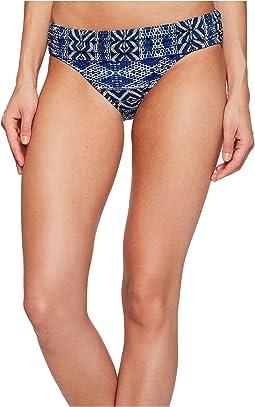 Designer Jeans Shirred Band Hipster Bottom