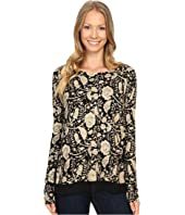 Lucky Brand - Floral Printed Pullover Sweater