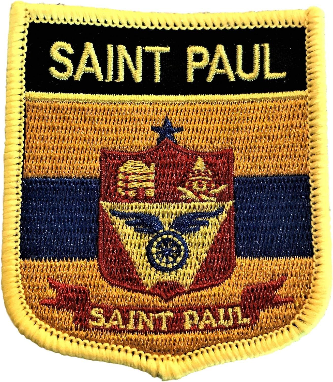 Saint Paul Ranking TOP11 MN City Flag Shield Ranking TOP7 Patch