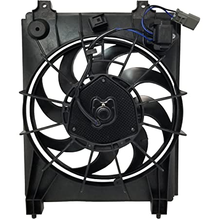 Automotive Cooling AC Condenser Fan Assembly For Honda Civic HO3115129 100% Tested