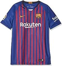 NIKE 2018/19 FC Barcelona Stadium Home Big Kids' Soccer Jersey