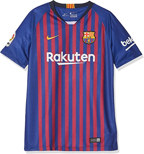 Nike FCB Y NK BRT Stad JSY SS HM T- T-Shirt Enfant