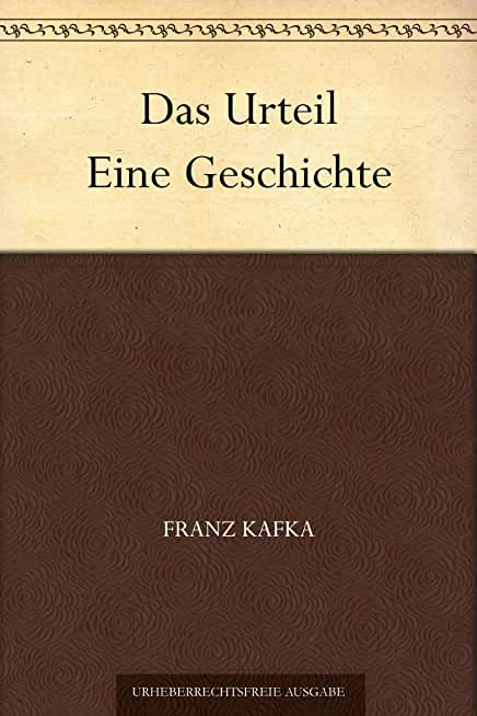 Das Urteil Eine Geschichte (German Edition)