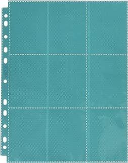 18-Pocket Pages Side-Loading Petrol (10) Card Game, Blue